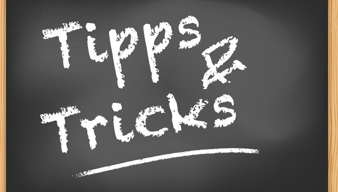 Nützliche Tipps